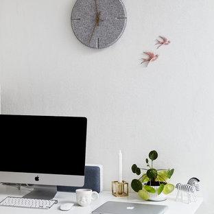 Home office - scandinavian home office idea in Wiltshire