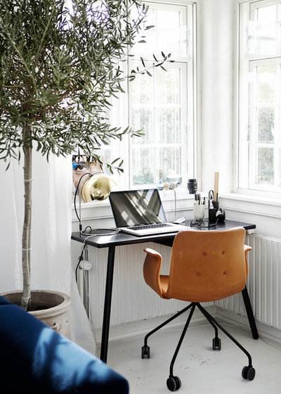 Scandinave Bureau à domicile by Mia Mortensen Photography