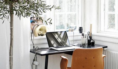 8 løsninger: Få plads til hjemmekontoret i det lille soveværelse