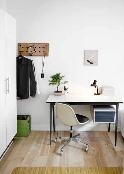 Modern Arbetsrum by Mia Mortensen Photography