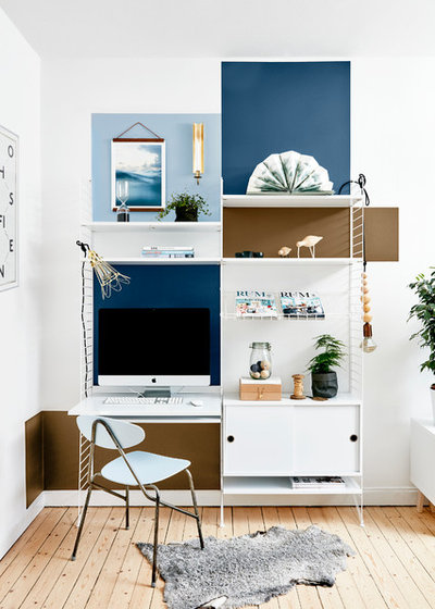 Scandinavian Home Office by Sadolin Danmark