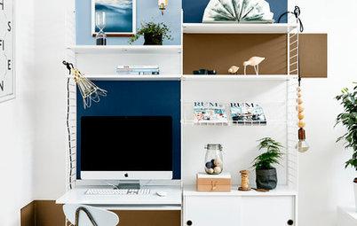 Photothèque : 20 bureaux à domicile truffés d'astuces