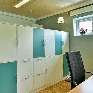 オーフスの北欧スタイルのおしゃれなホームオフィス・書斎の写真