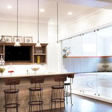 Traditional Home Bar by Milestone Custom Homes