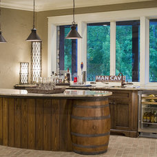 Traditional Basement by Dillard-Jones Builders, LLC