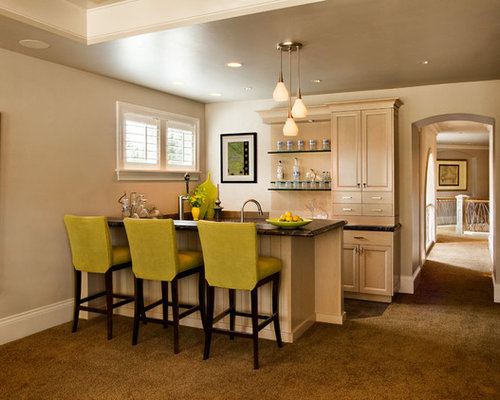 Small space bar home design ideas pictures remodel and decor Home bar furniture portland oregon