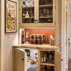 Farmhouse Home Bar by Past Basket Design