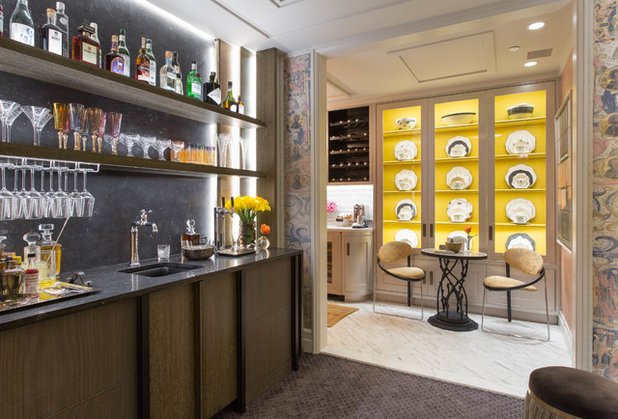 Eclectic Home Bar by Rikki Snyder