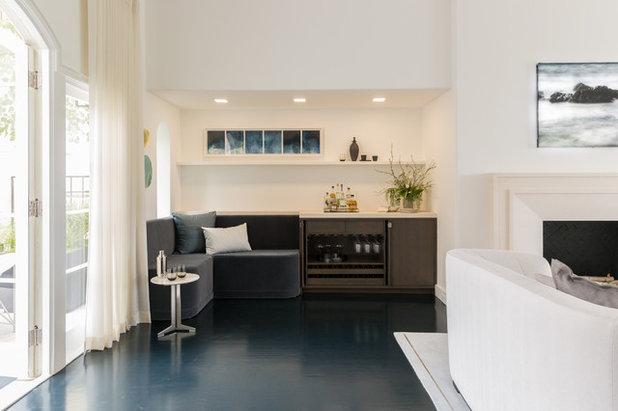 Modern Home Bar by Lauren Edith Andersen, Photographer