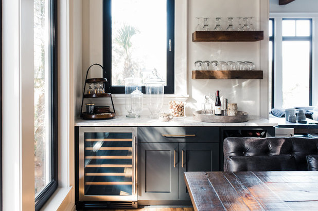 Contemporary Home Bar by Jilco Kitchen and Bath
