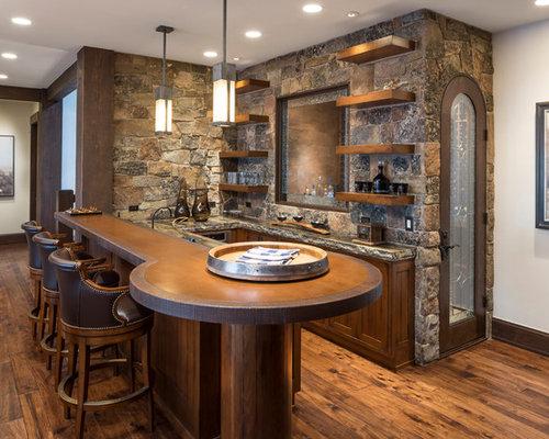 Fotos de bares en casa dise os de bares en casa con for Modelos de barras de bar para casas