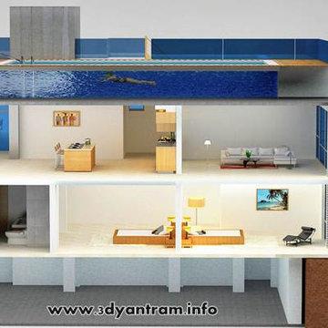 3D Floor Plan Architectural Animation