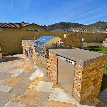 4S Ranch-92127-Totally (MOD)ern Patio/Fireplace/Outdoor Kitchen