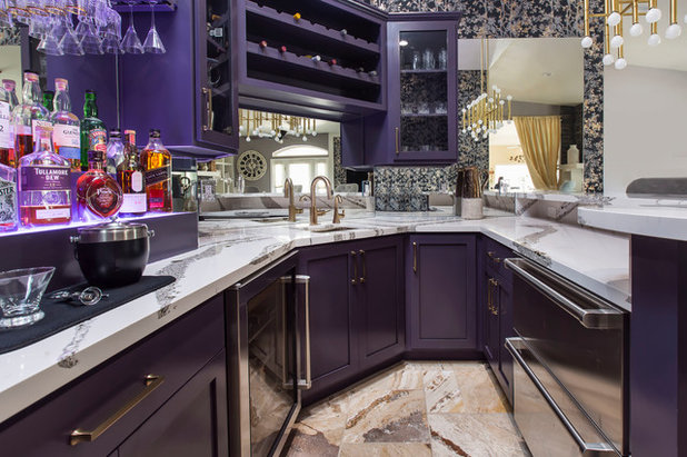 Transitional Home Bar by Lenton Company, Inc.