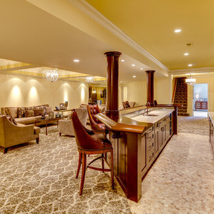 A Lower Level Retreat in Potomac, MD