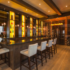 Traditional Home Bar by Tavan Group