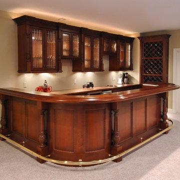 Adult Beverage Cabinetry & Serving Centers