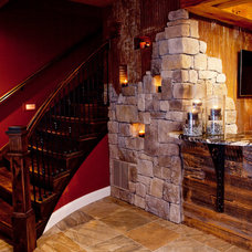 Eclectic Basement by Cindi B.Jones