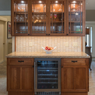 Arts and Crafts Style Kitchen Remodel