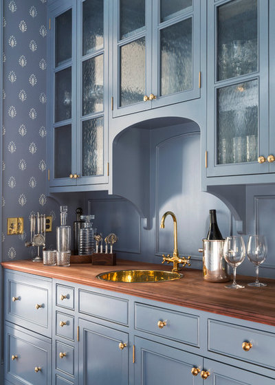Transitional Home Bar by Artistic Designs for Living, Tineke Triggs