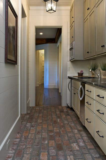 Interior Brick Flooring Kitchen : Brick floors could this durable material work for your house