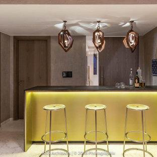 Immagine di un angolo bar design