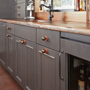 Bar Cabinetry Detail