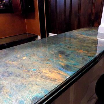 Bar Epoxy Countertops