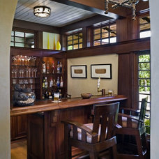 Tropical Home Bar by Ike Kligerman Barkley