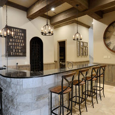 Rustic Home Bar by Legend Lighting