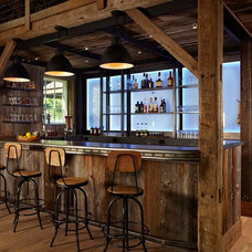 Farmhouse Home Bar by Kelly & Co.