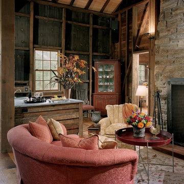 Barn Renovation - Living Room