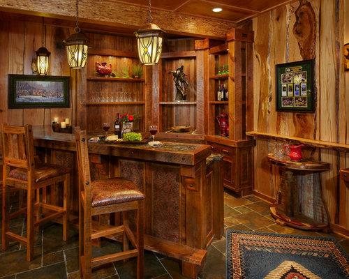 Rustic Bar Houzz