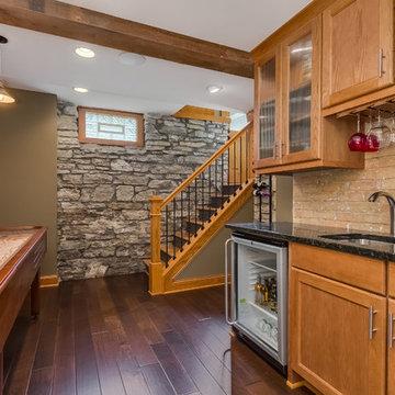 Basement Bar & Stairs