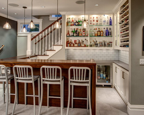 Small Bar Counter Home Design Ideas, Pictures, Remodel and Decor