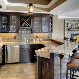 Basement Bar - Kintyre Model - 2014 Spring Parade of Homes