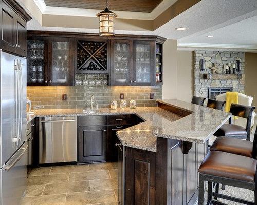 Home Bar Design Ideas Houzz: Basement Bar
