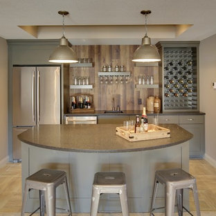 Basement Bar – Kintyre Model – 2015 Spring Parade of Homes