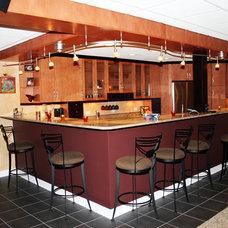 Basement by Meeder Design & Remodeling