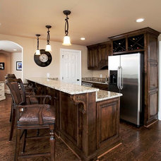 Home Bar by Raymac Remodeling