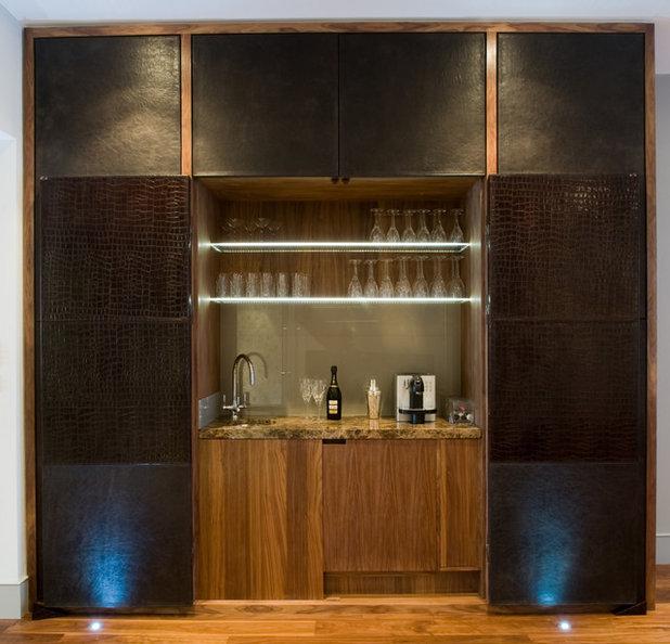 Contemporary Home Bar by Urban Cape