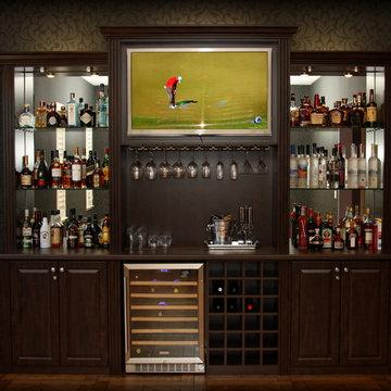Billiard Room Refreshment Center