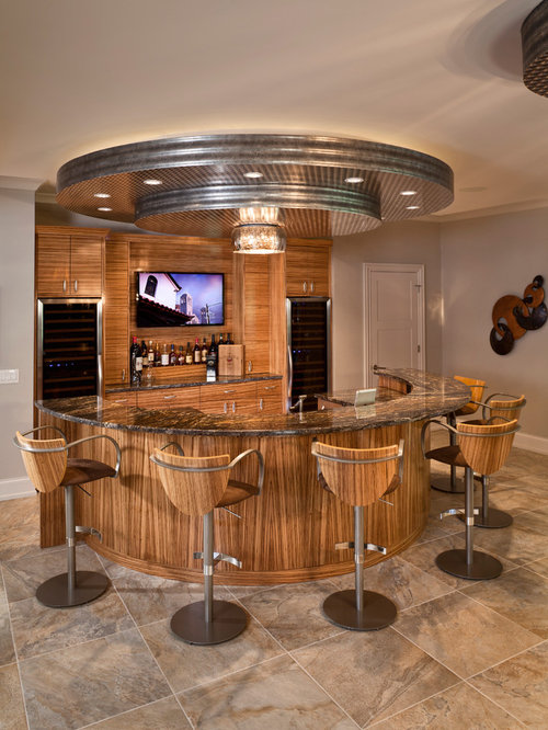 semi circular bar houzz
