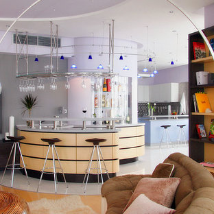 Blue Penthouse in Moscow