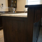 Gameroom Amp Bar Transitional Home Bar Chicago By