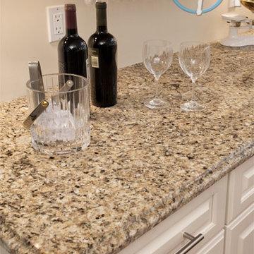 Brazilian Gold Granite Kitchen Countertops   Marble.com