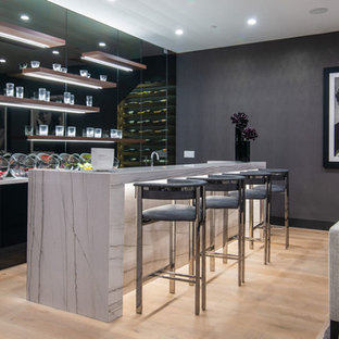 75 Most Popular Contemporary Home Bar Design Ideas For 2018   Stylish Contemporary  Home Bar Remodeling Pictures | Houzz