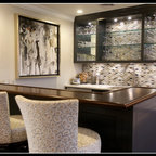 Onyx Bar Contemporary Home Bar Miami By Umber