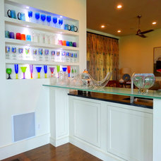 Contemporary Kitchen by High Country Cabinets of Banner Elk