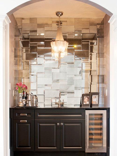 petit bar de salon moderne photos et id es d co de bars de salon. Black Bedroom Furniture Sets. Home Design Ideas